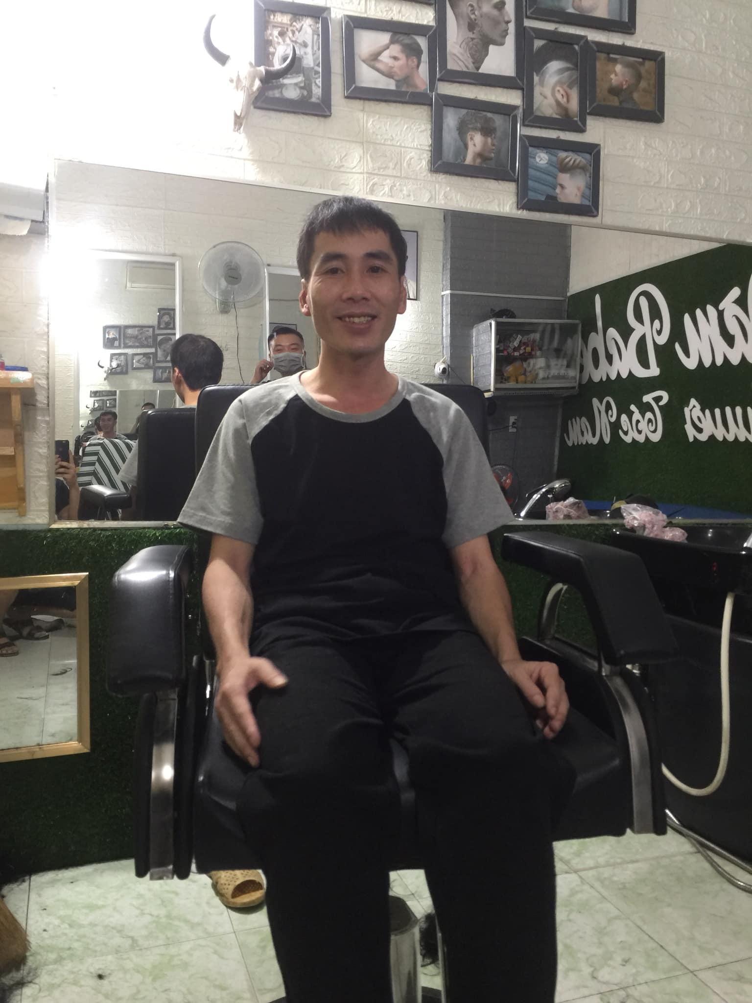 homeless man after haircut 1