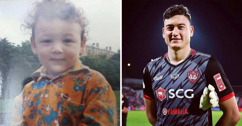 footballers childhood photos - van lam