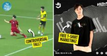 """Footballer Văn Toàn Releases """"It's Real"""" Shirts After Penalty Kick From Fall In Vietnam-Malaysia Match"""