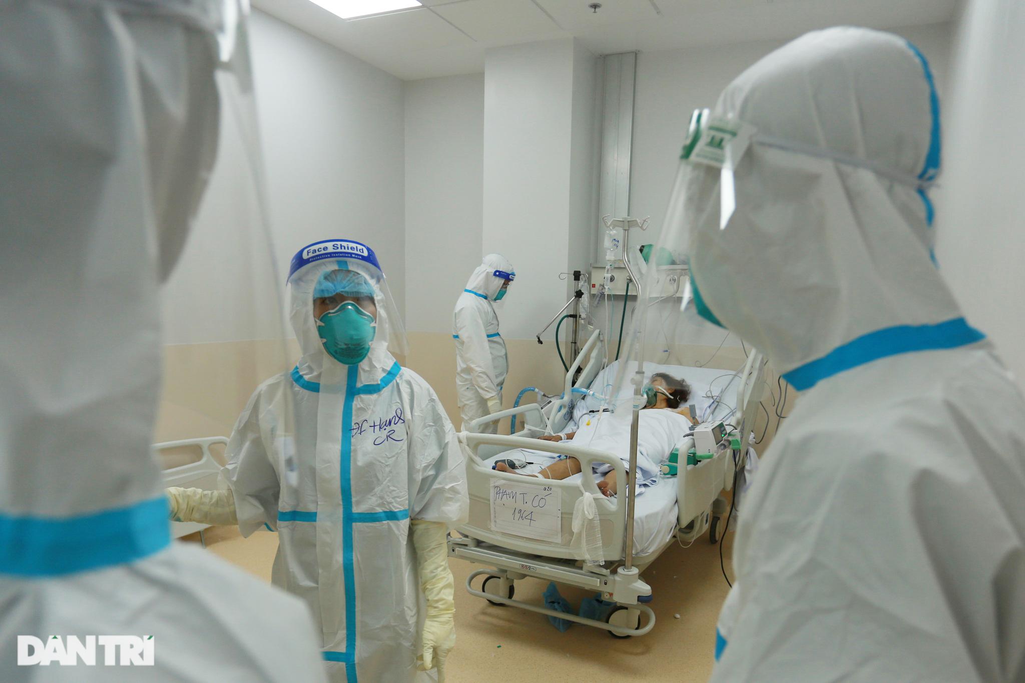 Saigon Covid-19 hospital