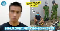 Man Caught Robbing House, Pretends To Be Owner & Invites Police In For Drinks