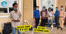 Man Walks For 16 Days Towards Hometown, Cries When He Received Help