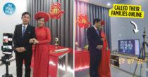 Couple Brings Their Wedding Online, Adhering To Social Distancing Orders