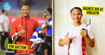 Footballer Trọng Hoàng Auctions His SEA Games Gold Medal To Donate To Covid-19 Fund
