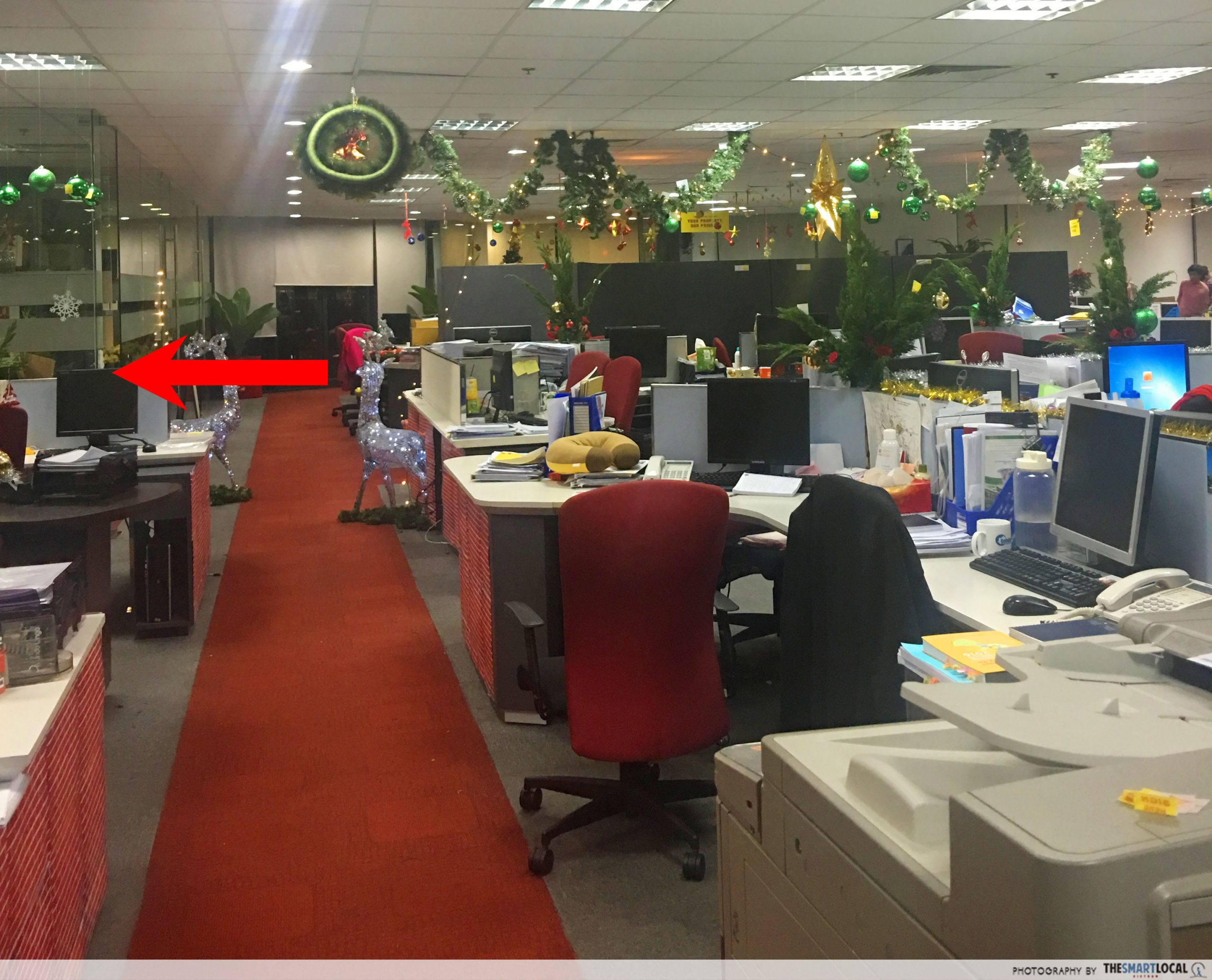 office paranormal encounters