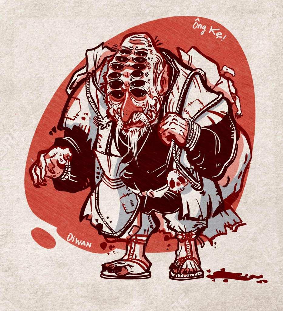 vietnamese ghosts demons - ong ba bi