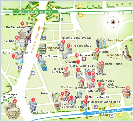 Seoul Subway Map 2018 Pdf.How To Guide To Shopping In Seoul Korea 7 Must Visit Shopping Areas