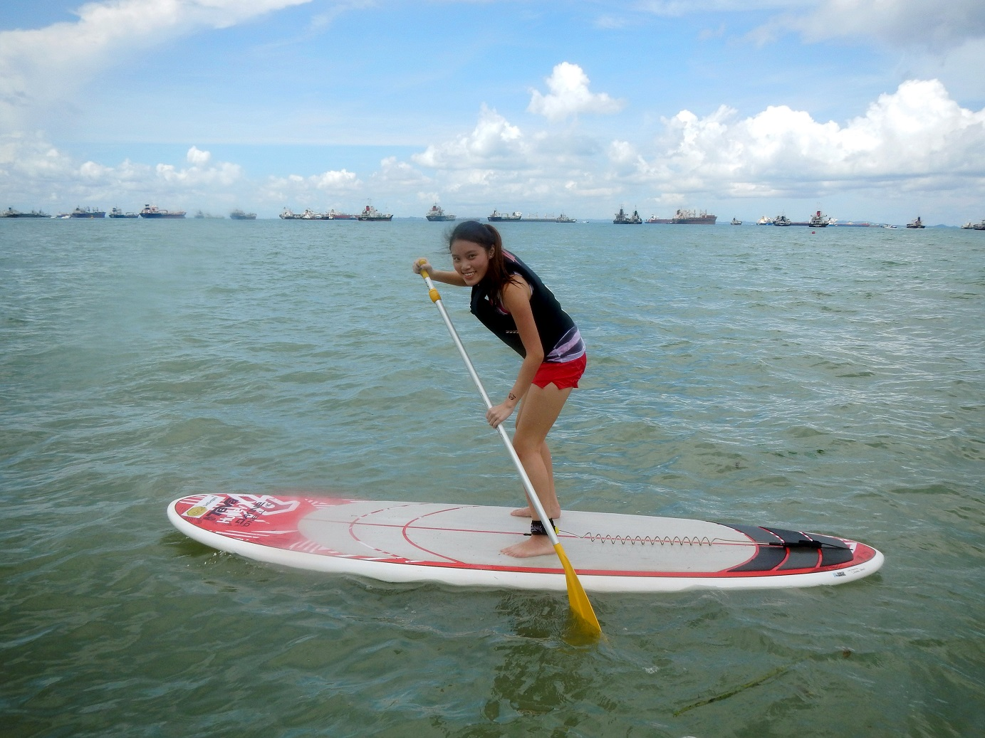 2c3dd7fd23 Stand Up Paddling in Singapore - How I stood on water for an hour