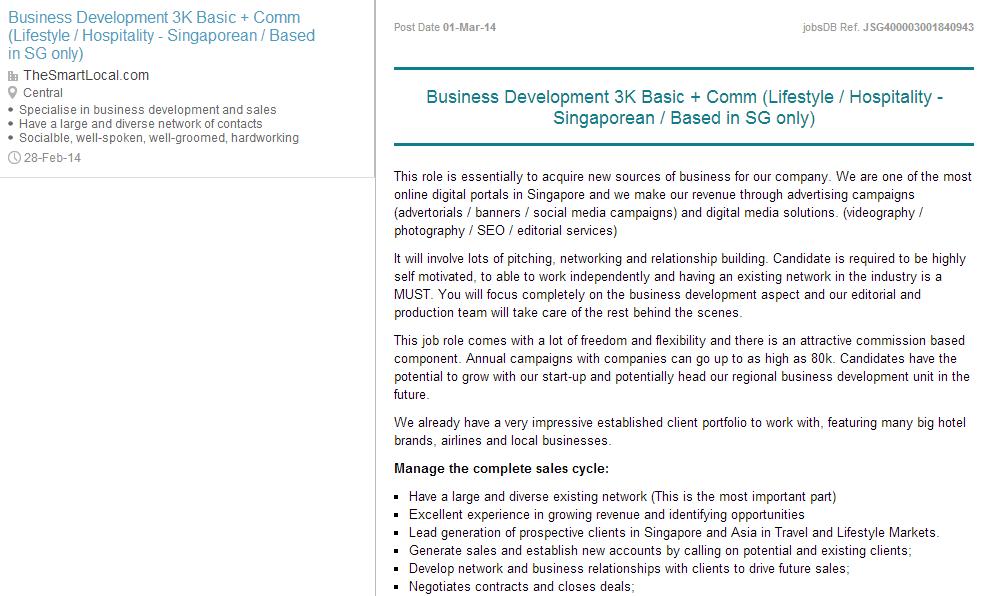 Case study on the best job sites in Singapore - JobsDB vs