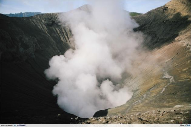 Gunung Bromo Crater