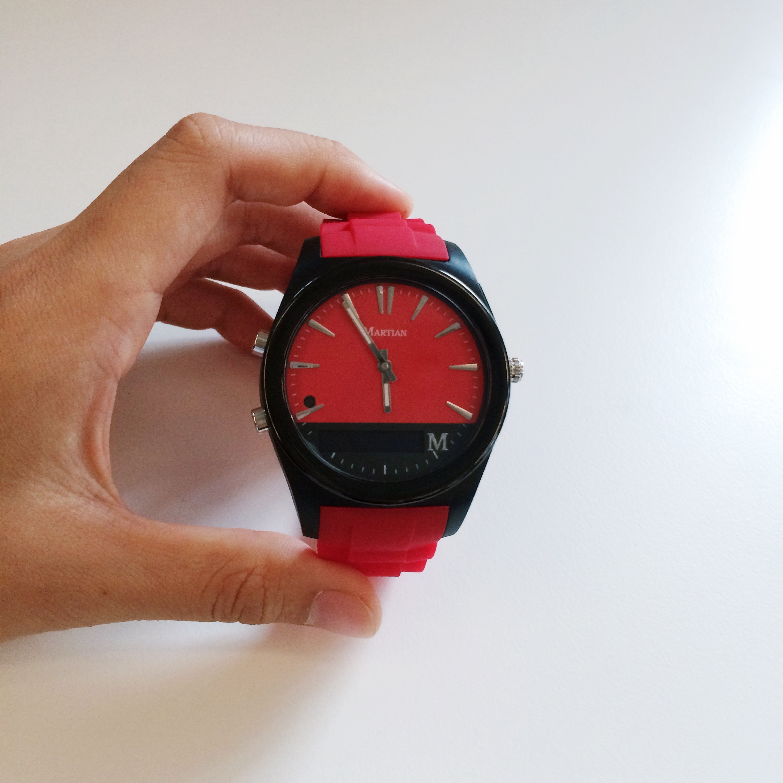 Martian Notifier The Smart Watch To Get For Your Boyfriend