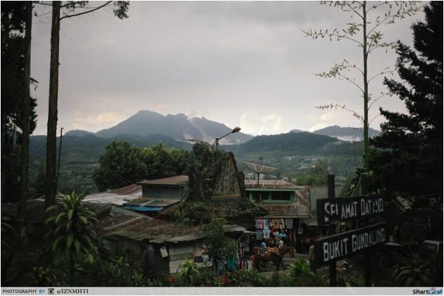 Sibayak and Sinabung