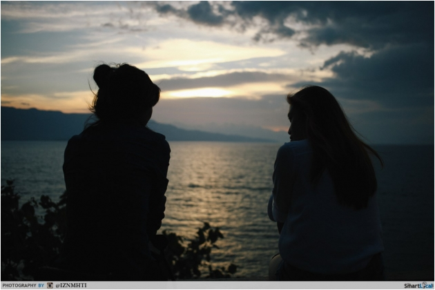Lake Toba Sunset