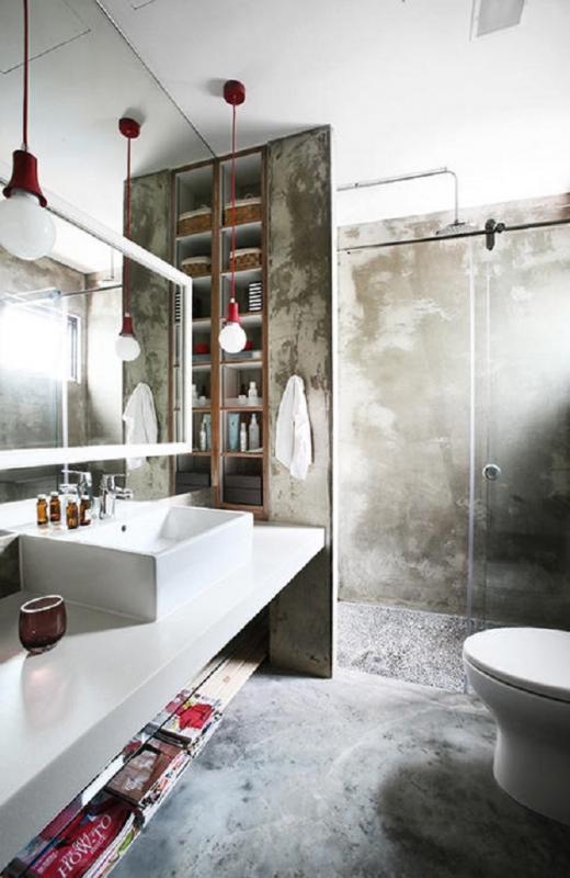 toilet design industrial