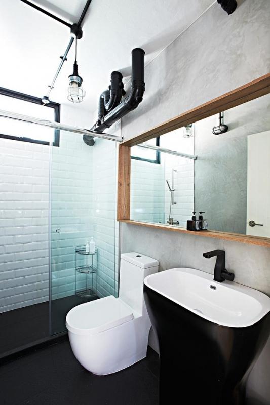 contemporary hdb toilet