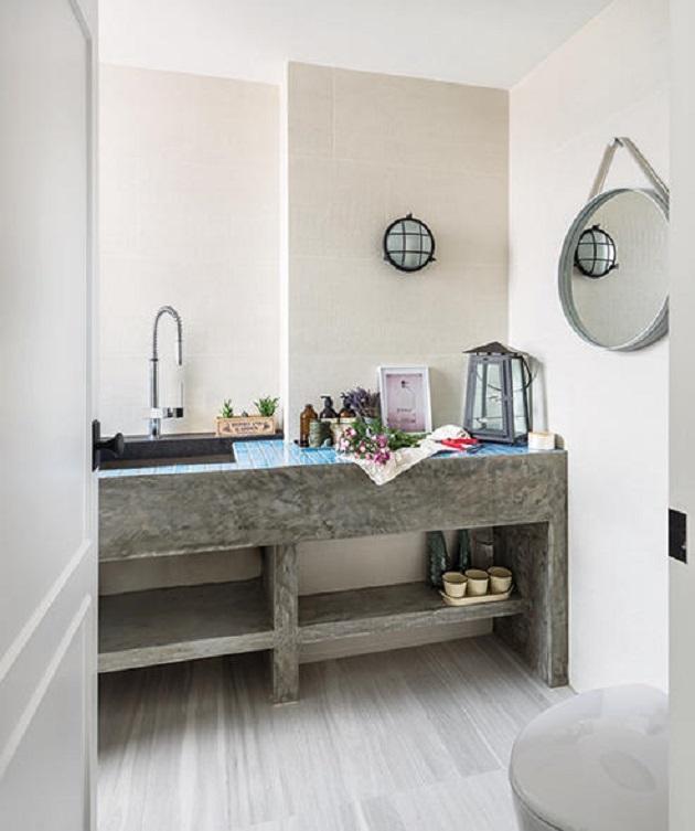 hdb toilet design grey