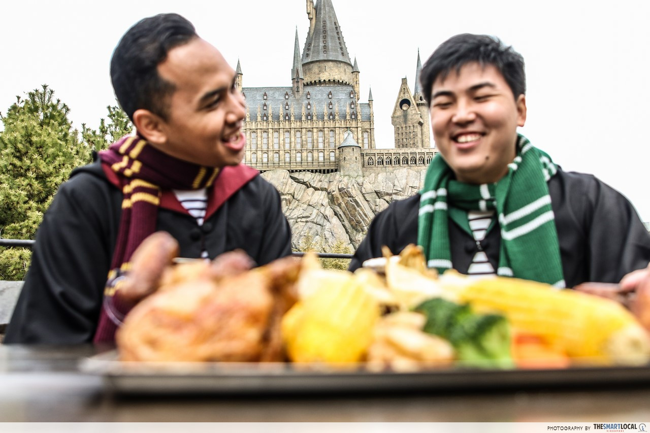 harry potter wizarding world japan food