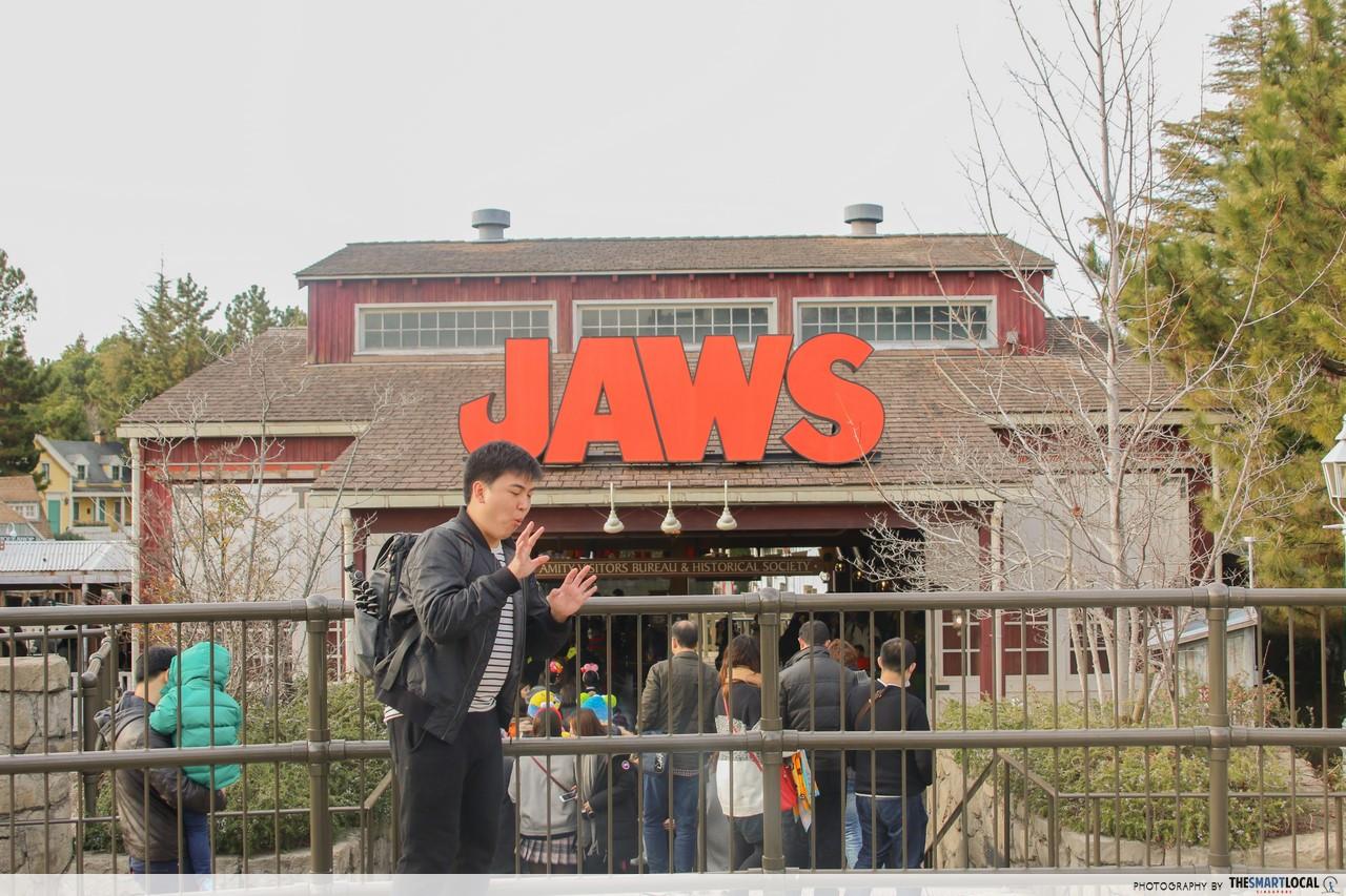 jaws japan universal studios