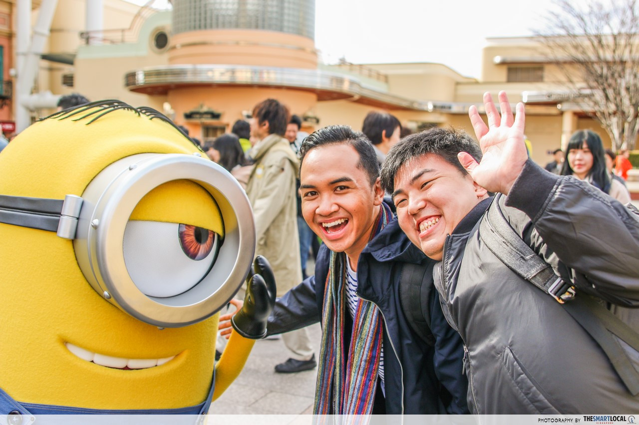 despicable me minon japan theme park osaka