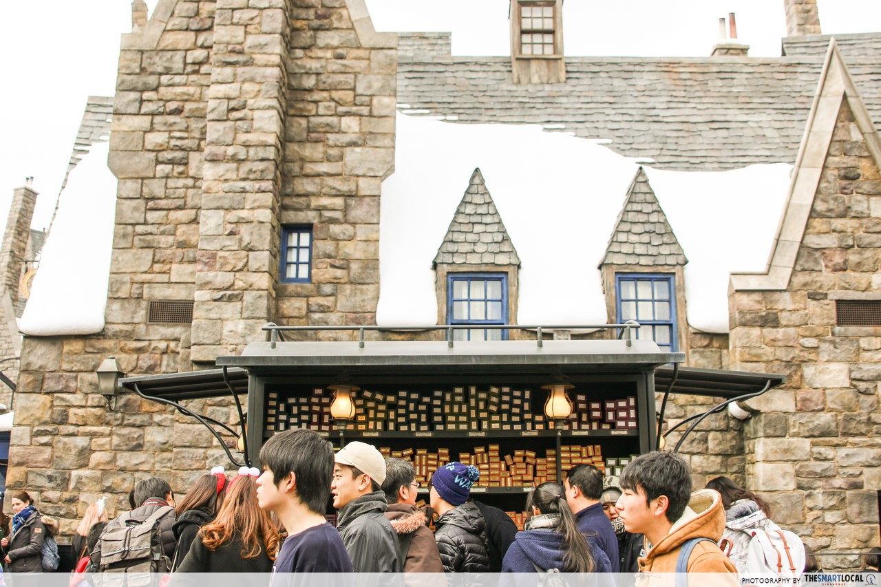 hogsmeade real life harry potter wizarding world japan ollivanders