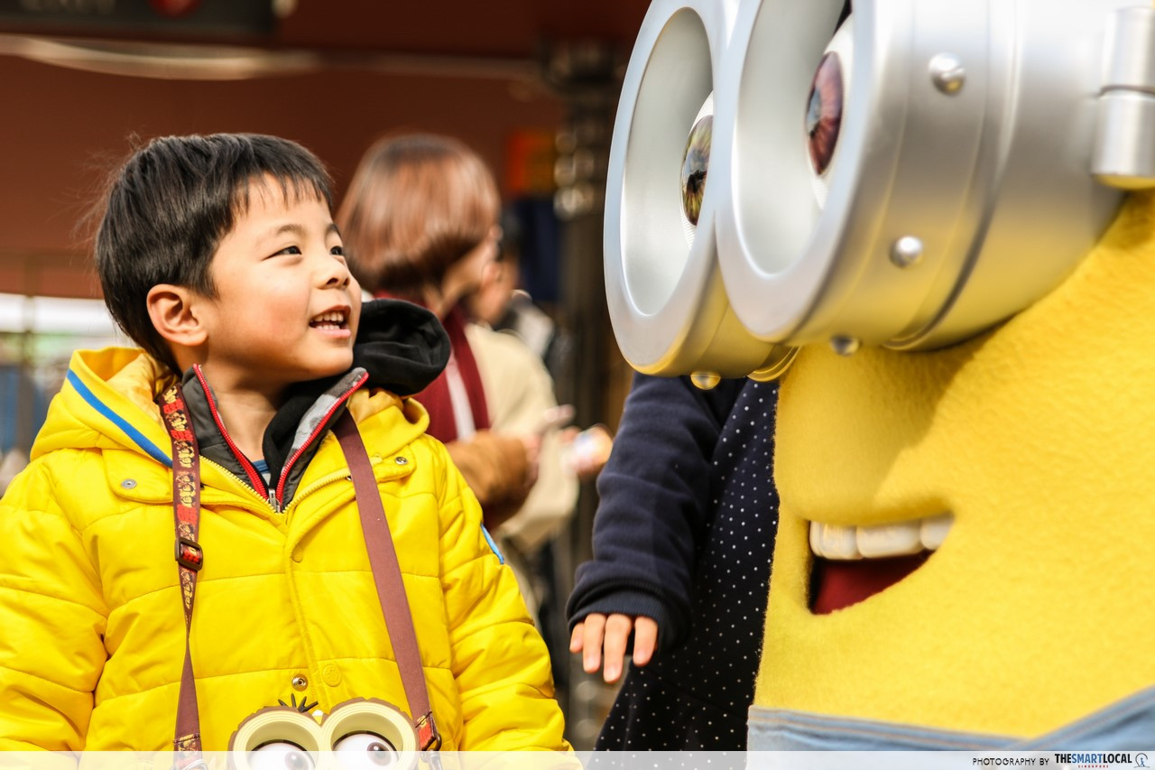 despicable me minion japan