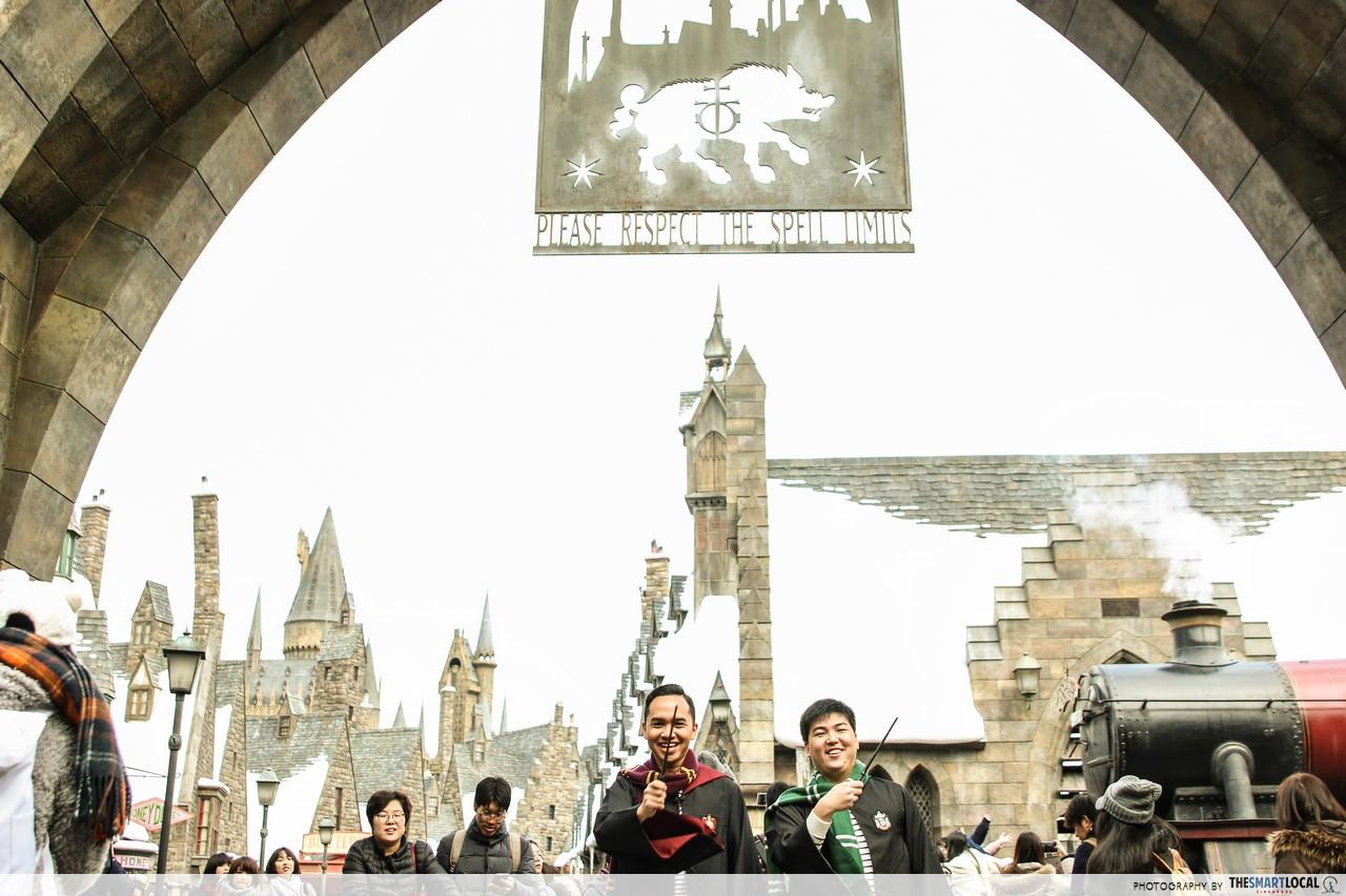 harry potter cosplay japan universal studios japan