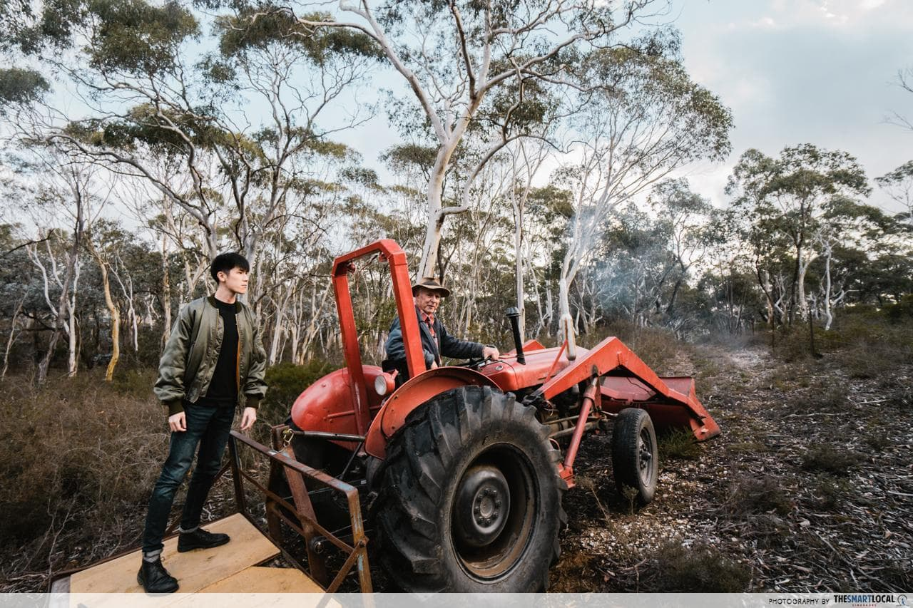 downunder farmways tractor