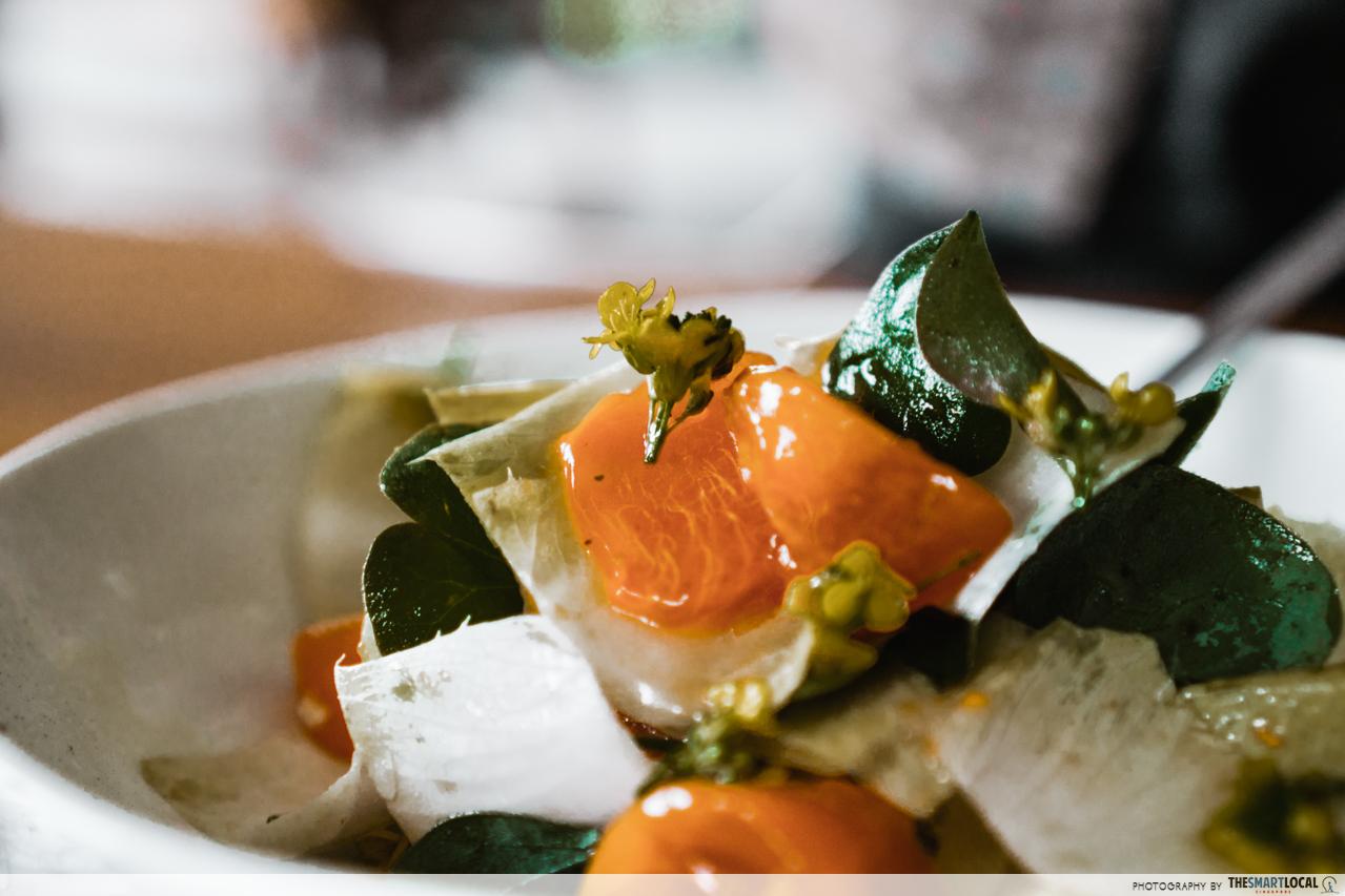biota dining foraging dishes