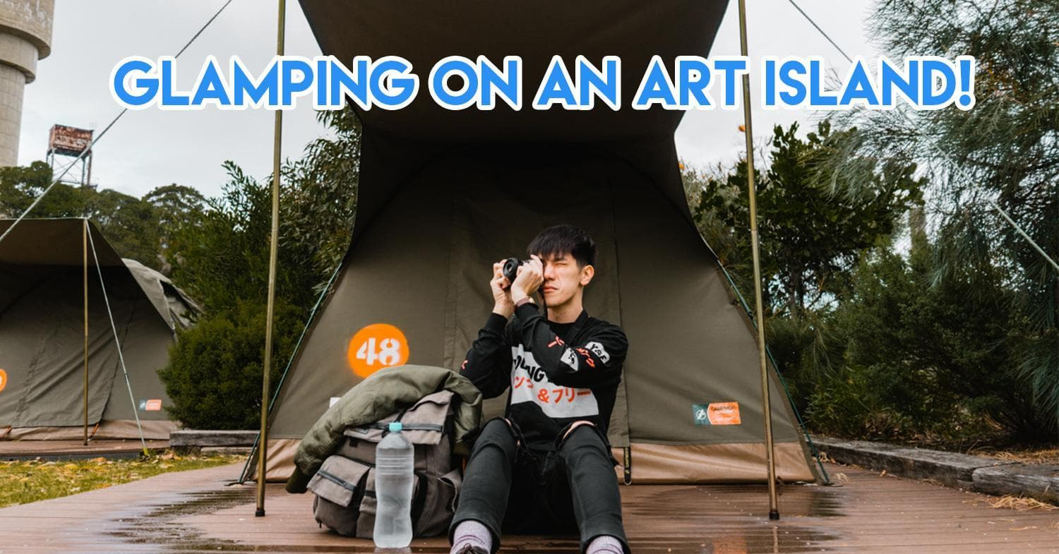 glamping on sydney cover image