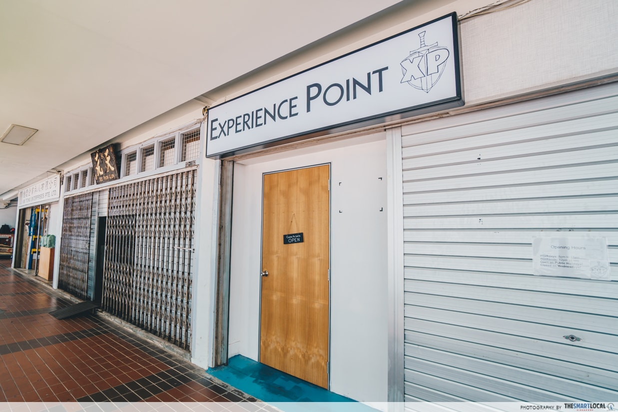 experience point entrance