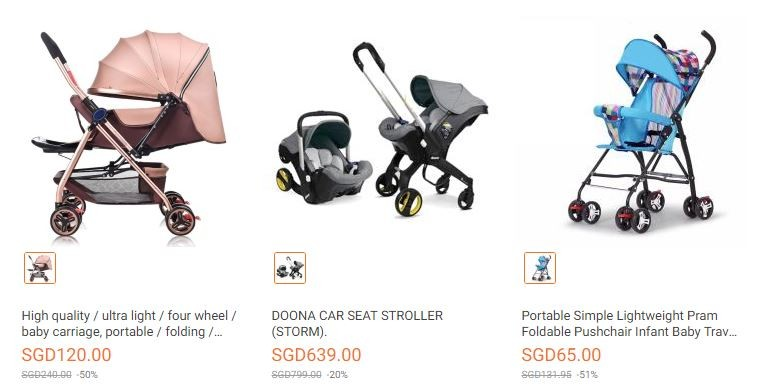 Lazada Mother & Baby day