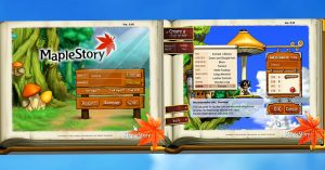 Maple Story - COver image login page