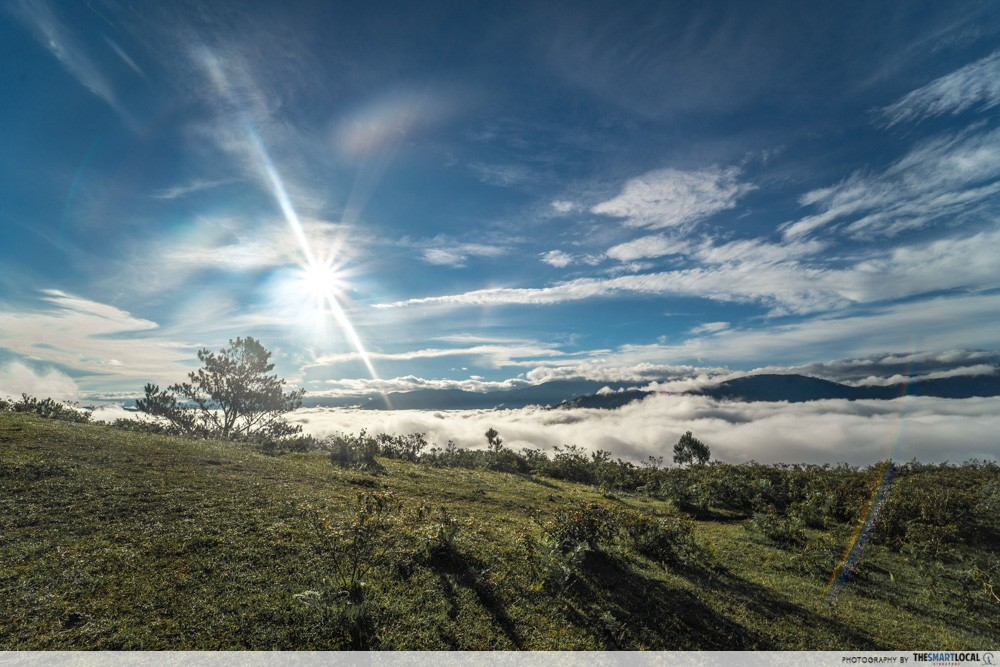 Marlboro Hill Sea of Clouds Sagada
