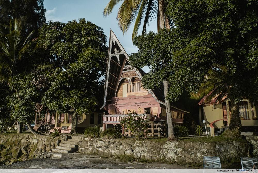 Batak House Samosir Island Lake Toba