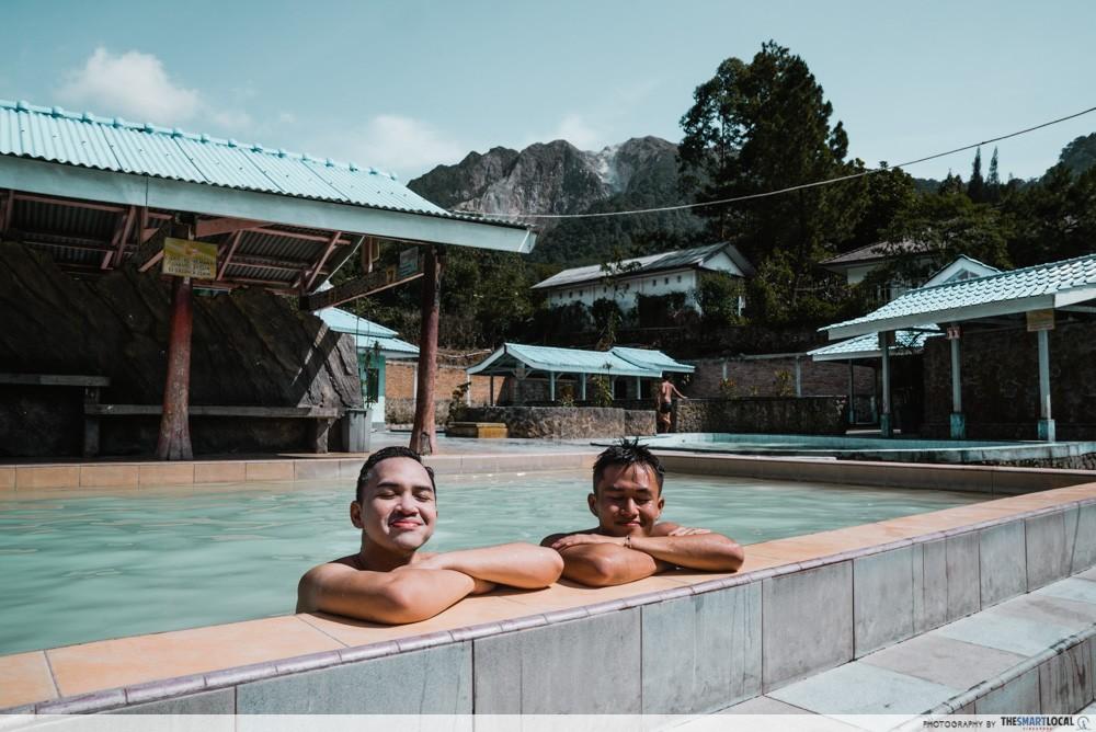 Hot spring spa Medan