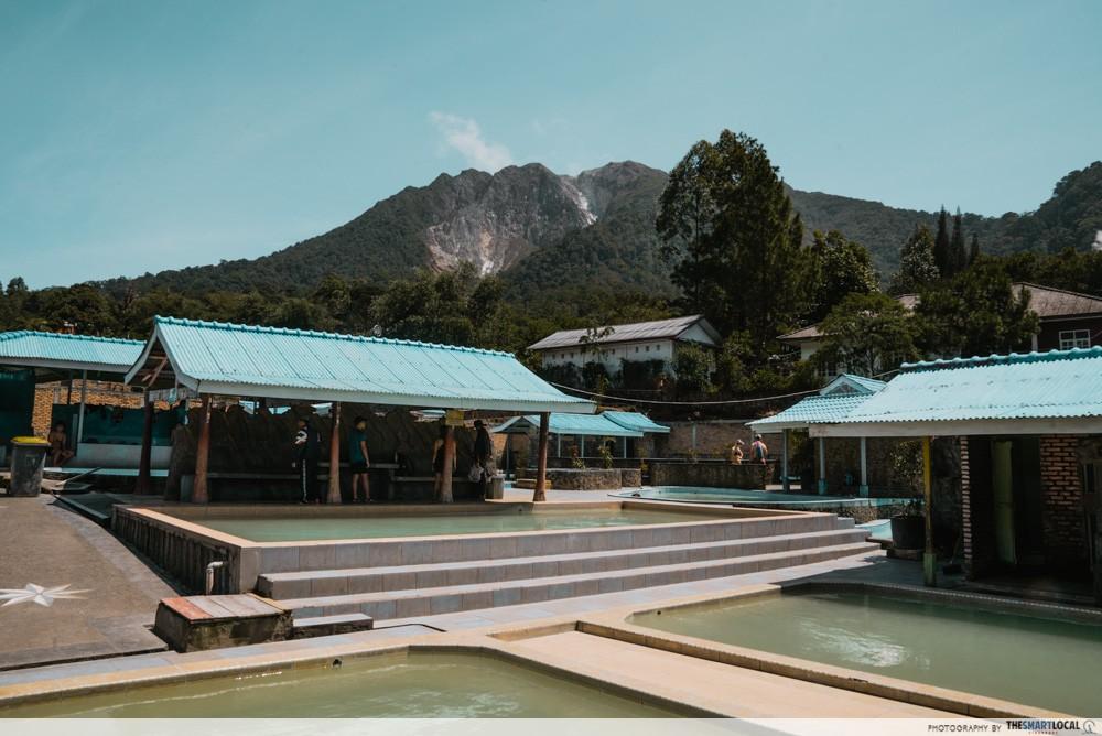 Hot springs medan