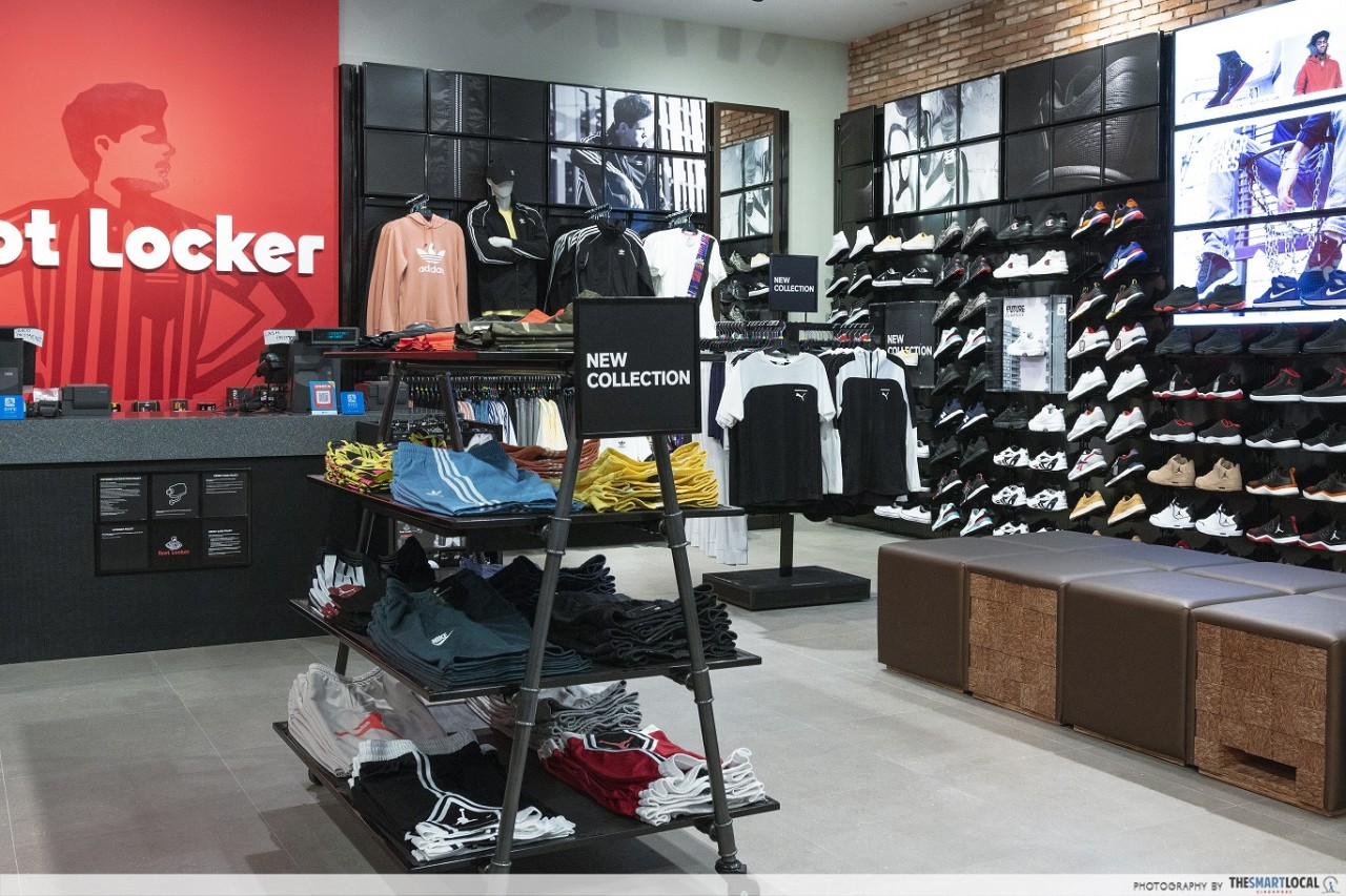 Restricción Trascendencia Publicación  Foot Locker Opens Its Second Store In Singapore At Jem Mall With Exclusive  Footwear