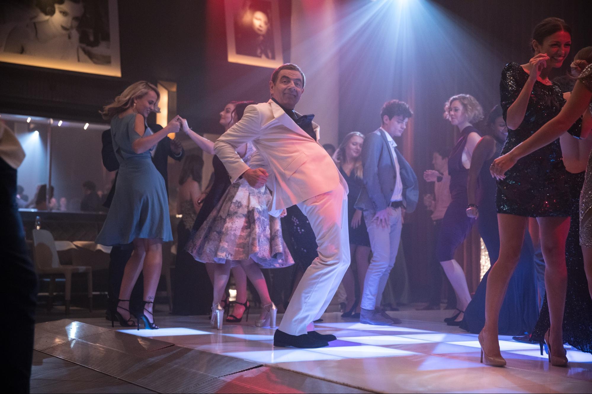 Johnny English Strikes Again - dancing disco spy