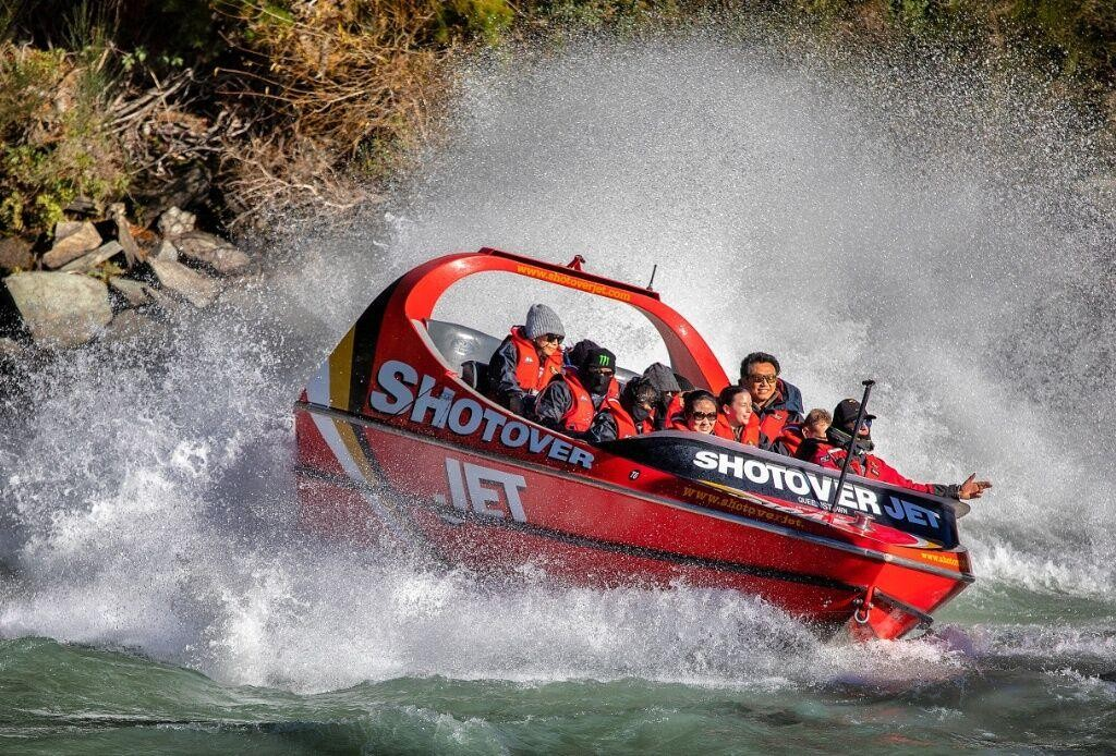 shotover jetboat ride