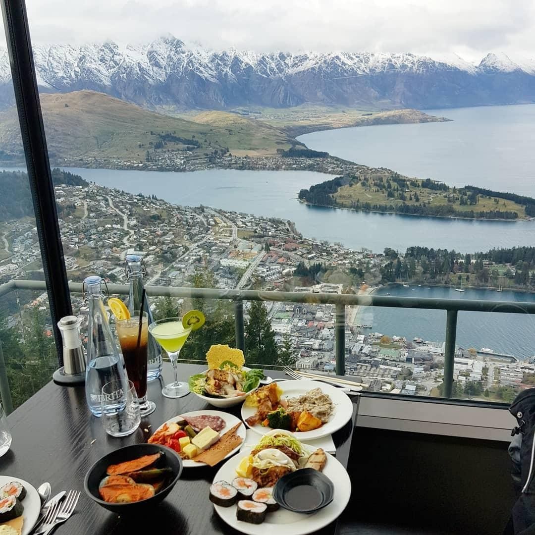 stratosfare restaurant mt cook glaciers