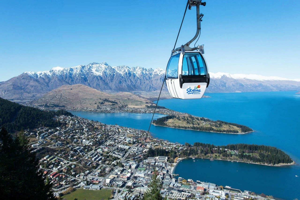 skyline gondola queenstown australia