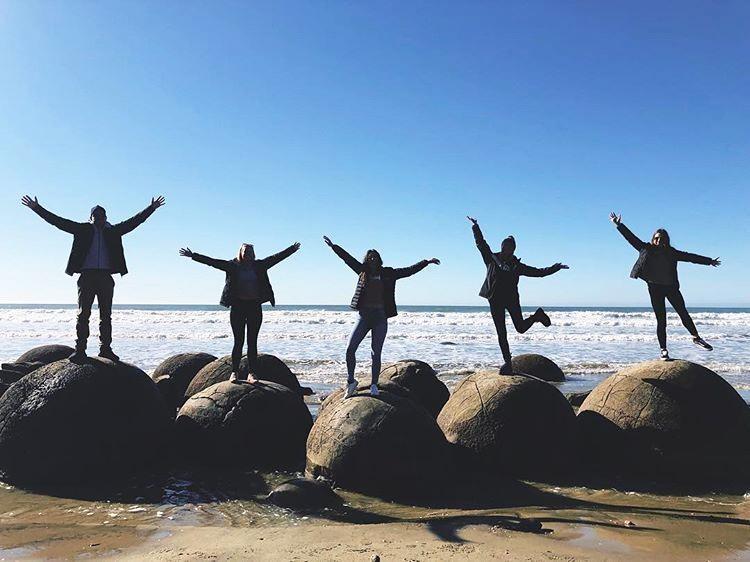 moeraki boulders koekohe beach