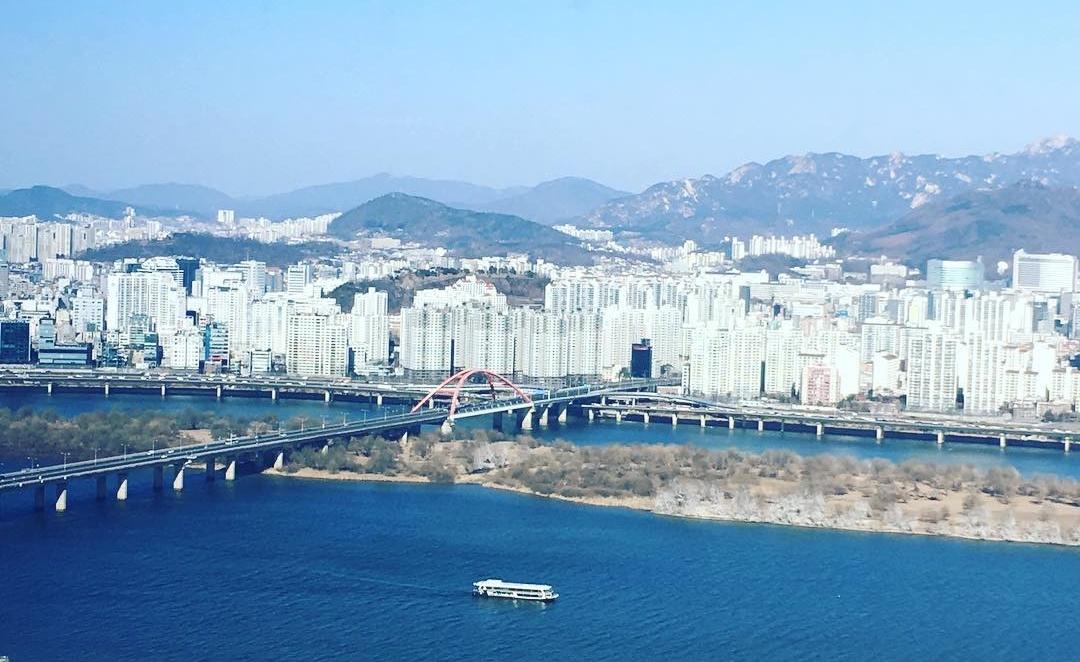 Seoul Restaurants view Korea - 37 bar grill view