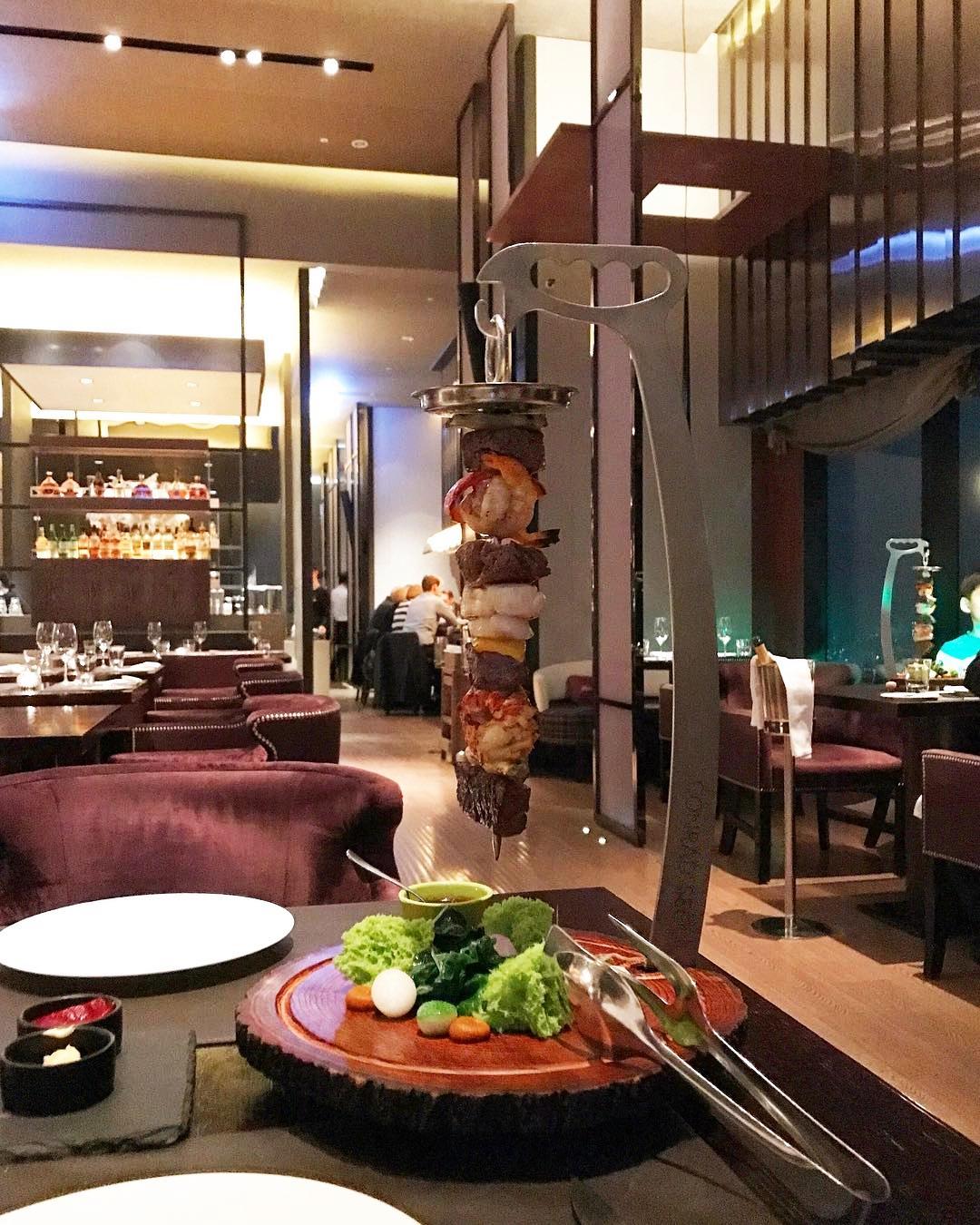 Seoul Restaurants view Korea - 37 grill Skewer Estpetada