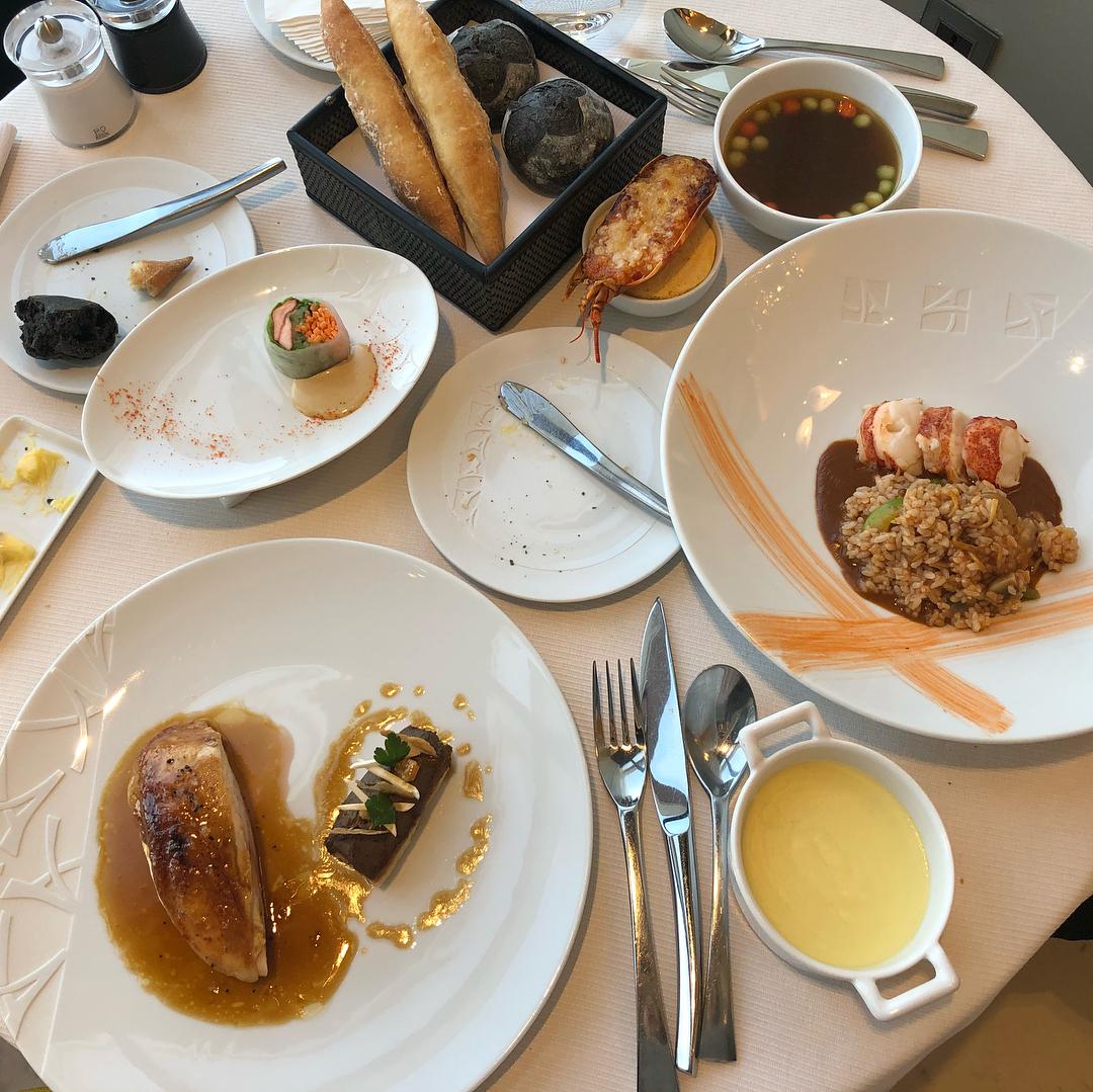 Seoul Restaurants view Korea - STAY french food meal menu