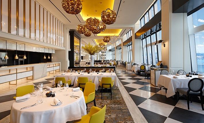 Seoul Restaurants view Korea - STAY lotte world french