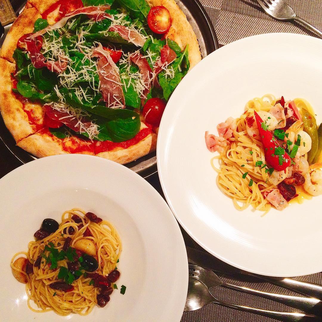 Seoul Restaurants view Korea - adela bailey menu food pasta pizzza