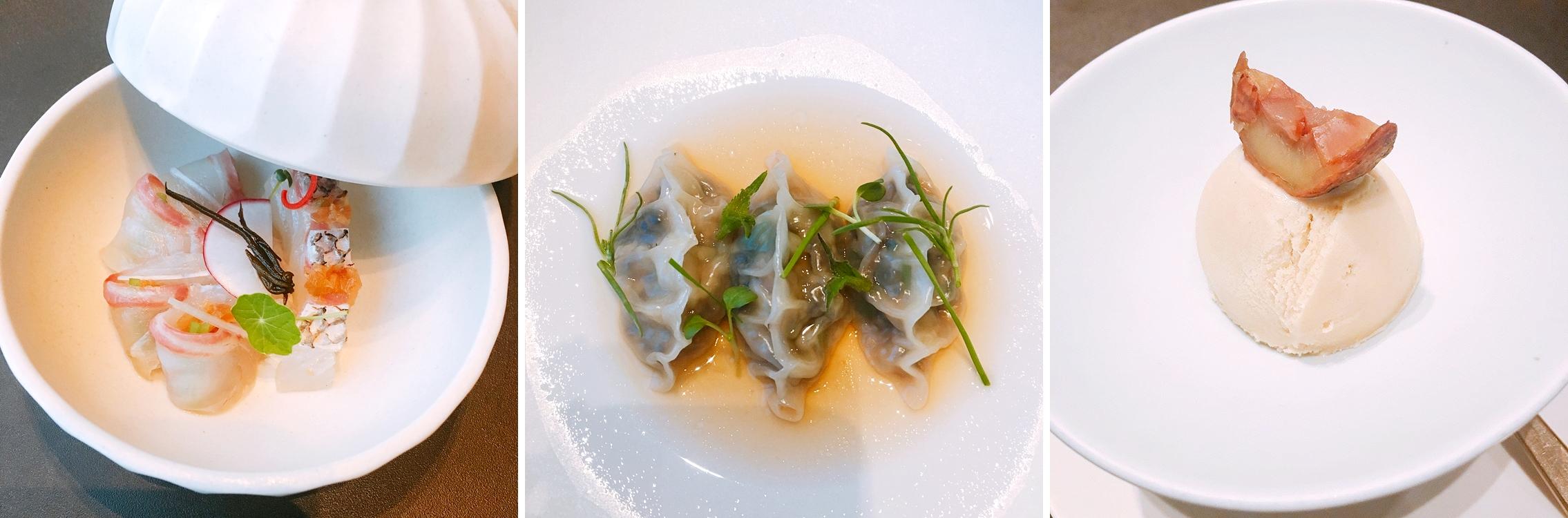 Seoul Restaurants view Korea - bicena food pure innocence course