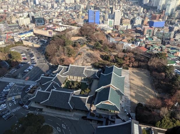 Seoul Restaurants view Korea - la yeon the shilla namsan park gardens