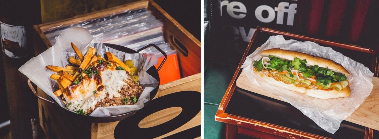 Seoul Restaurants view Korea - mmm records food bahn mi poutine